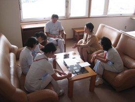 リーダー(管理職)研修の模様1